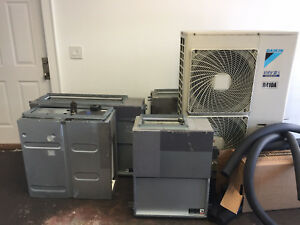 6 Year Old Daikin Vrv Iii s 4 Ton 22k System Complete With 4 Vrf Fan Coils
