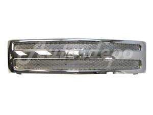 Grille All Chrome For 2007 2013 Silverado New Style 1500 Pickup