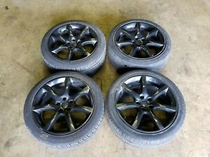 Used 2003 2007 Infiniti G35 Rims Wheels Tires 5x114 3 18inch 18x8jj Offset 30