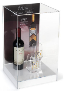 Retail Store Acrylic Countertop Display Case W 11 X 17 Advertising Sign Holder