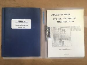 Mazak Plc Ladder Diagrams For Vtc 16a 16b 20b 20c M32b Version Vq t8