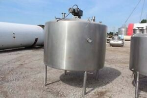 1000 Gallon walker stainless Steel 316 Stainless Steel Mixing Tank Jacketed