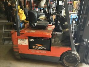 Toyota Electric Forklift 1997 5fbe18