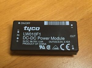 Tyco Lucent Lw010f1 Isolated Dc dc Converter 1pc 1 Lot