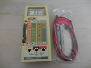 Fluke 8024a Multimeter Tested New Lead Set Clean Free Shipping