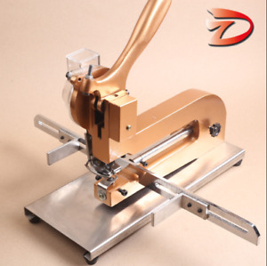 Automatic File Bag Eyelet Punching Machine Desktop Buttonhole Machine