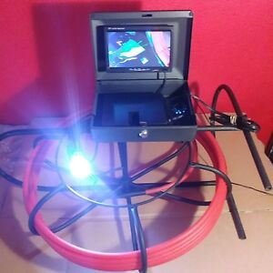 Sewer Pipe Drain Cleaner Video Endoescope Video Inspection Camera 200feet Video