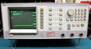 Agilent Hp Keysight 8756a Scalar Network Analyzer Display