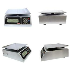 Torrey Leq 10 20 High Precision Digital Portion Control Scale Stainless Steel
