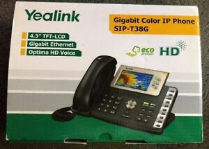 Yealink Sip t38g Gigabit Color Ip Office Phones Reset To Factory Very Nice