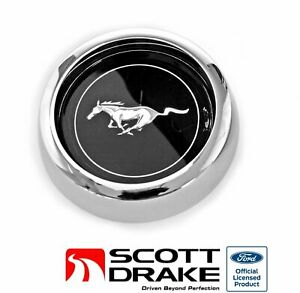 1969 Mustang Wheel Center Cap Magnum 500 2 Original Scott Drake