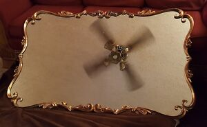 Mirror Pretty Vintage Art Deco Gold Framed Great Condition 5 X 3