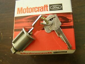 Nos Oem Ford 1960 1964 Galaxie Fairlane Thunderbird Ignition Lock 1961 1962 1963
