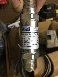 Wika Instrument 4216681 Explosion proof Pressure Transmitter
