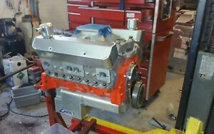 434 Sbc Drag Racing Engine And Powerglide Transmission Package Deal