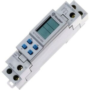Finder 12 71 8 230 0000 16a Digital Weekly Time Switch Spdt co 250vac