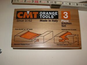 Cmt 3 Piece Raised Panel Router shaper Bit Set