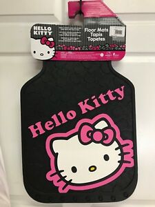 Hello Kitty Collage 2 Piece Floor Mats 31 X 18 Plastic Color 001502r01