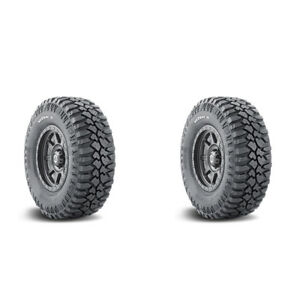 2x New Lt305 60r18 121q Mud Terrain Tyre Mickey Thompson 2 Ply Tires 305 60 18