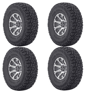 New 4x Dick Cepek 33x12 50r15lt Fun Country Tire 108 Q All Terrain 33 1250 R15