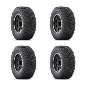 4x New Lt305 65r17 121 118q Mud Terrain Tyre Mickey Thompson 3 Ply Tires