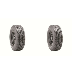 2x New Lt285 70r17 121 118s All Terrain Tyre Mickey Thompson 2 Ply Tires