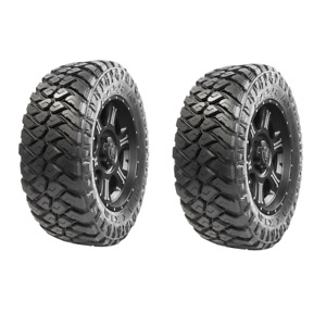 New Maxxis Razr Mt 37x13 50r20lt Tire 127 Q Mud Terrain 37 1350 R20 Set Of 2