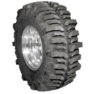 1x New Lt37x13 17 130q Mud Terrain Tyre Super Swamper 4 Ply Tires 330 75 17