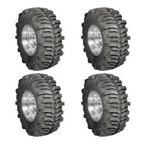 4x New Lt37x13 17 130q Mud Terrain Tyre Super Swamper 4 Ply Tires 330 75 17