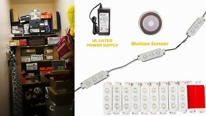 Ledupdates Closet Garage Basement Led Light Motion Sensor Switch Ul Power