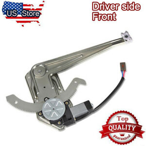 Power Window Regulator W Motor For 93 11 Ford Ranger 94 10 Mazda Pickup Truck
