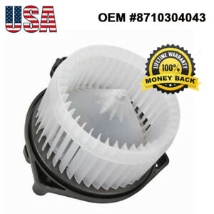 A C Heater Blower Motor W Fan Cage For 05 14 Toyota Tacoma 2 7l 4 0l 8710304043