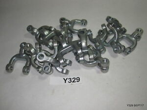 16 Qty Heavy Duty Double Clevis Link Chain Link Shackle Adapters 3 8 1 2