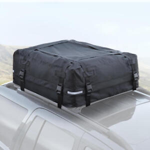 Large Rooftop Cargo Carrier For Luggage Travel Car Roof Storage 16 Cu Ft