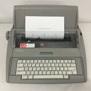 Brother Sx 4000 Portable Electronic Typewriter Dictionary Spell Chk Lcd Displa