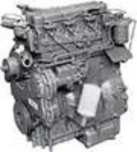 Perkins 4 236 Diesel Engine used All Complete And Run Tested