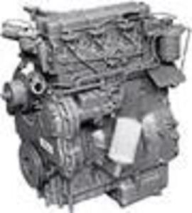 Perkins 4 236 Diesel Engine used All Complete And Run Tested Good Engine