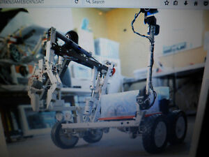 Robotics Prototype Wi fi Nasa Mars Rover Robotic Arm 4 Wheel Drive Drone