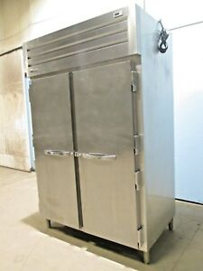 true Stg 2f 2s Hd Commercial S s nsf 115v 2 Doors Up right Reach In Freezer
