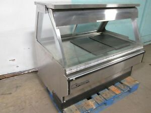 B K I Commercial Hd Heated Lighted Self serve Hot Food chicken Merchandiser