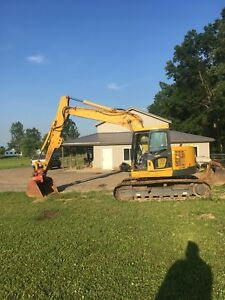 2009 Komatsu Pc 138us 8 Excavator Low Hours Comes With Four Buckets