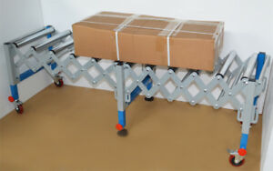 32 2 82 2 Flexible Expandable Roll Conveyor unpowered Conveyor Can Move best