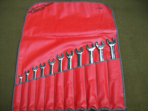 Snap On Oex711 11 Piece Sae Wrench Set 3 8 1 12 Point Usa