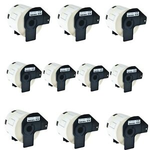 10roll Dk 1209 Dk1209 Address Labels For Brother Ql 570 1050 570vm 720nw 710w