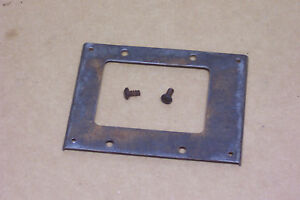 1964 1 2 1965 1966 1968 Mustang Non Console A T Shifter Bezel Mounting Plate