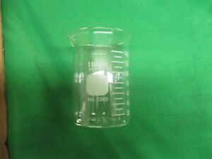 Corning Pyrex Glass 150ml Low Form Standard Duty Griffin Beaker 1000 11 Pck