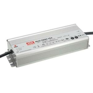 Mean Well Hlg 320h 48a Ac dc Power Supply Single out 48v 6 7a 321 6w 5 pin