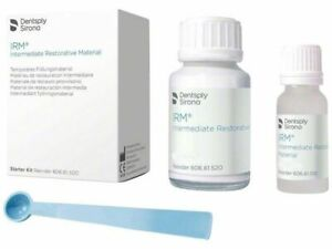 Irm Powder 38g Liquid 14ml Standard Package Ivory Dentsply Dental 610007 Fda