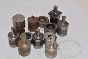 Punch Die Set Roper Whitney Press Diacro Huge Lot Of Mixed Punches Dies Ov