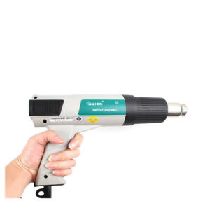 Portable Quick 885 Hot Air Heat Gun Adjustable Lcd Display Thermostatic 220v